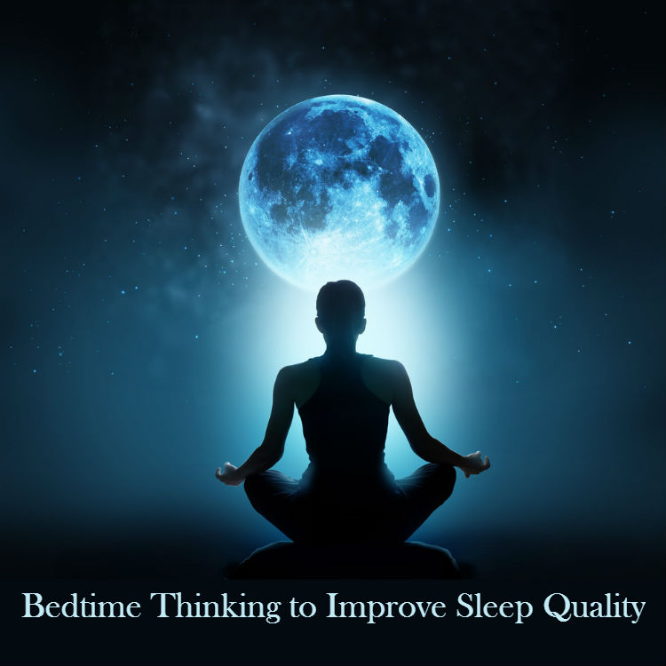 think for better sleep at night